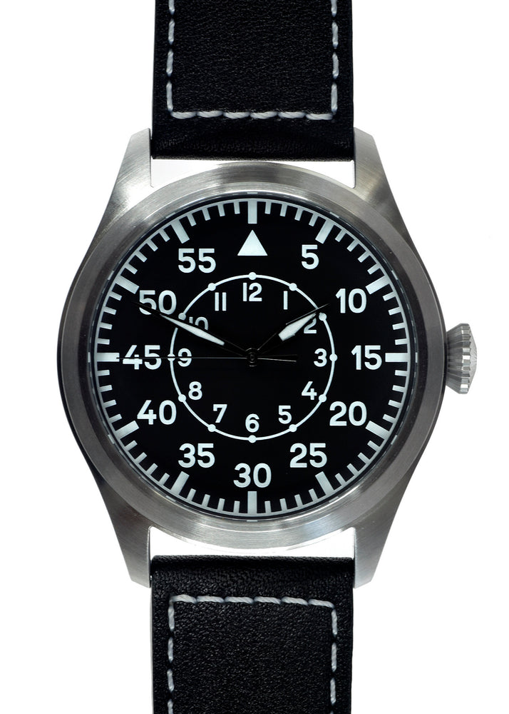 MWC Classic 46mm Limited Edition XL Luftwaffe Pattern Military Aviators Watch (Ex Display Watch from a Trade Show)