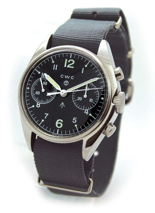 CWC Pilots Chronograph 1970s Remake Only 6 Weeks Old