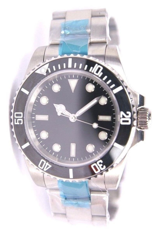 Combat Watch Company Stainless Steel Military Divers Watch with 10 Year Battery Life