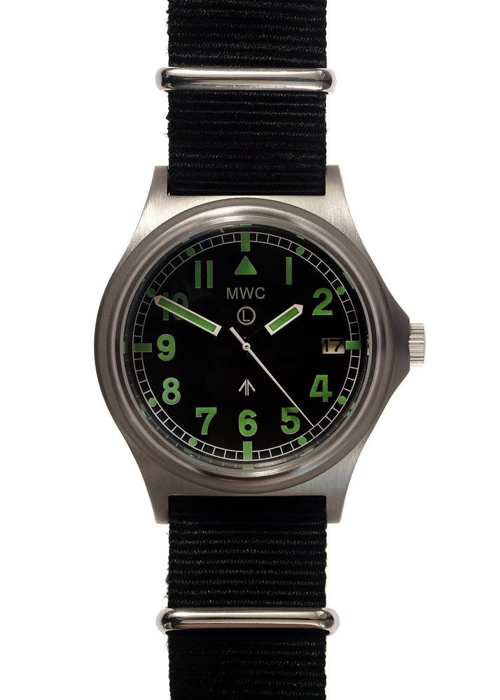 MWC G10 300m Auto Ltd Edition Brushed Steel Military Watch / Sapphire Crystal - Ex Display Save 50%