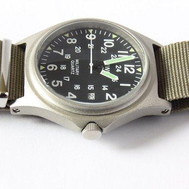MWC G10BH 12/24 50m Water Resistant Military Watch - Crown Needs Attention