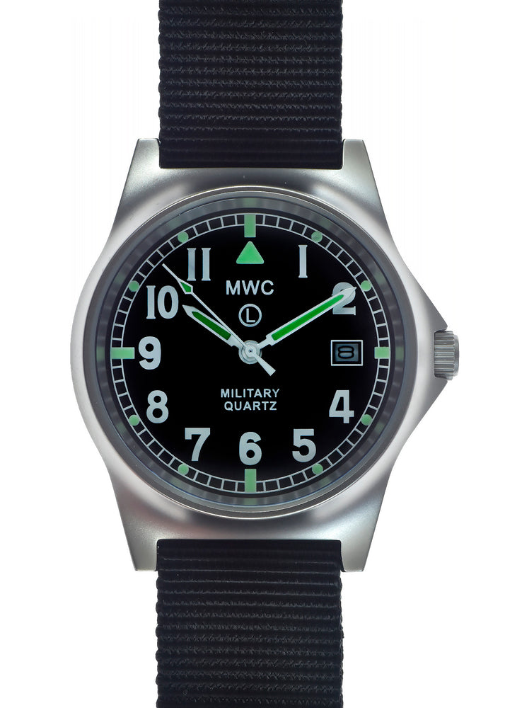 MWC G10 LM Stainless Steel Military Watch (Black Strap) - Brand New Fault if Any Unknown