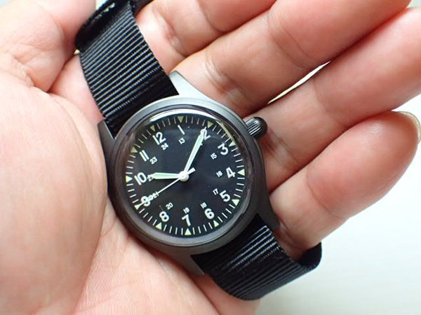 GG-W-113 US 1960s Pattern Military Watch Very Rare Olive Drab Model (Handwound) - Might Need a Service