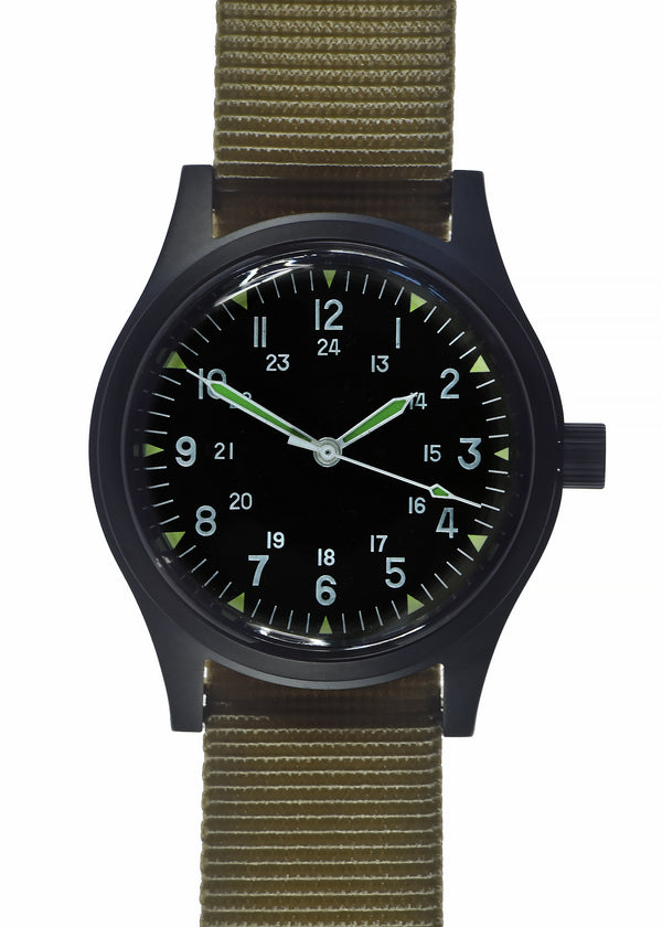 MWC PVD LTD Edition GG-W-113 Vietnam Watch (24 Jewel Automatic)