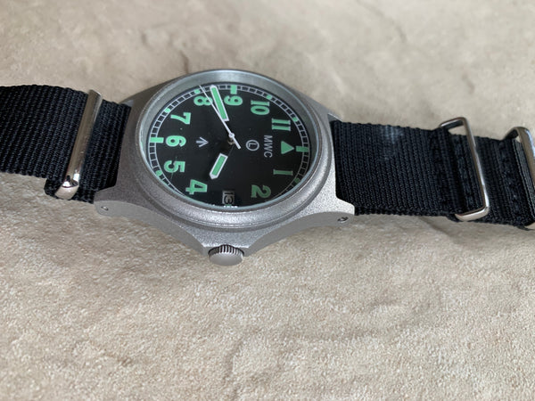 MWC G10 Automatic 100m Water Resistant Military Watch (Current Model No Fault Apparent)
