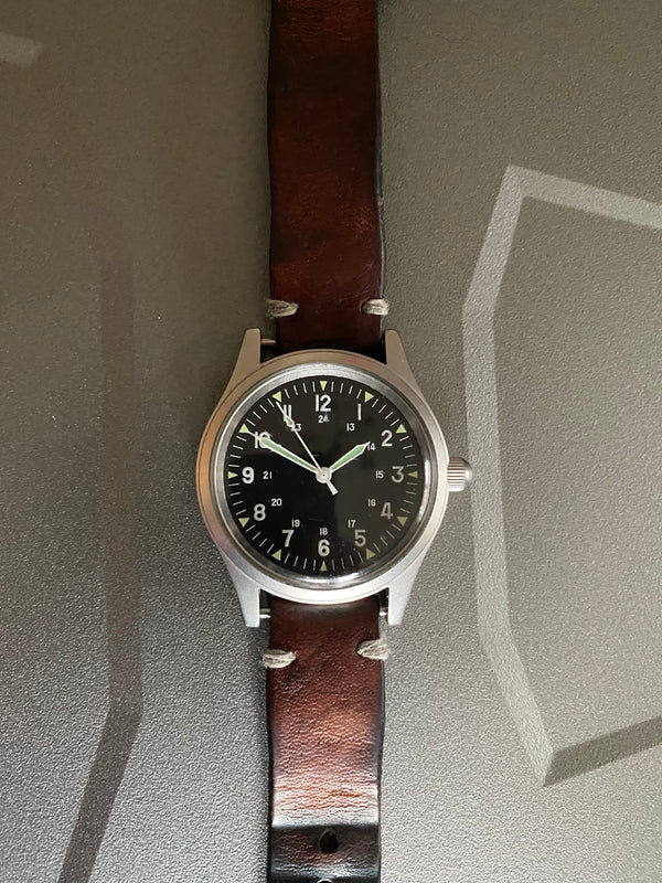 GG-W-113 US 1960s Pattern Military Watch (automatic) Not Running