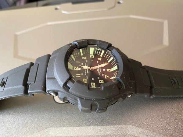 Aquaforce Military Watch - Not Running but almost certainly just the battery