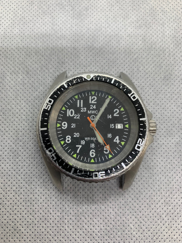 MWC 12/24 Military Divers Watch in Stainless Steel Case (Automatic) - Needs Restoration and TLC!