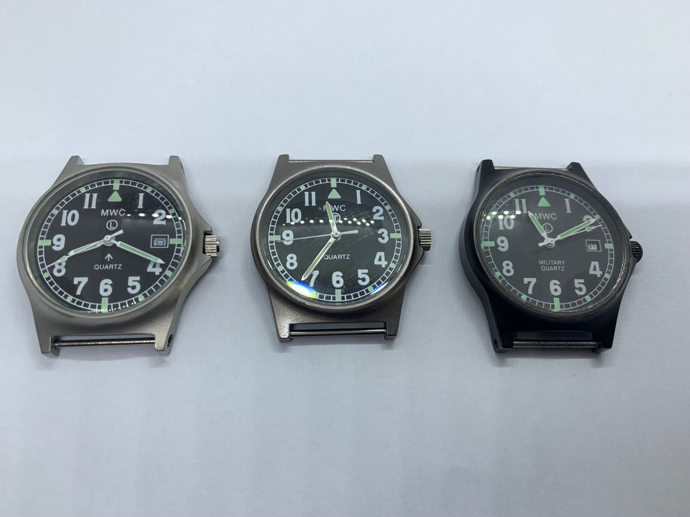 Bargain Batch of 3 x MWC G10 Watches for Repair / Service