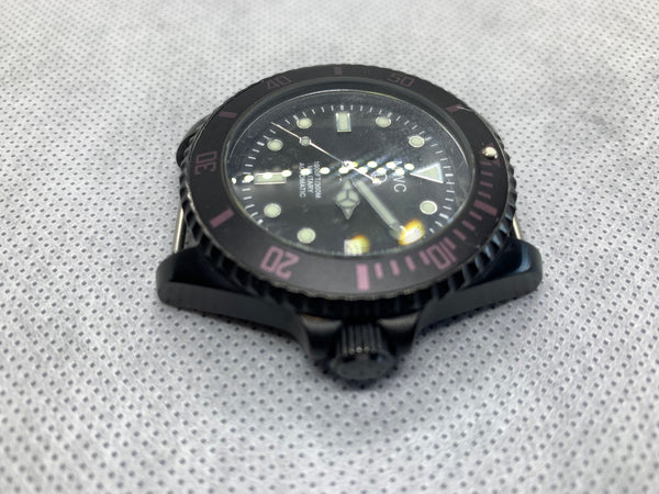 MWC 24 Jewel 300m Automatic Divers Watch on a NATO Strap - Running Fine Might Need a Service