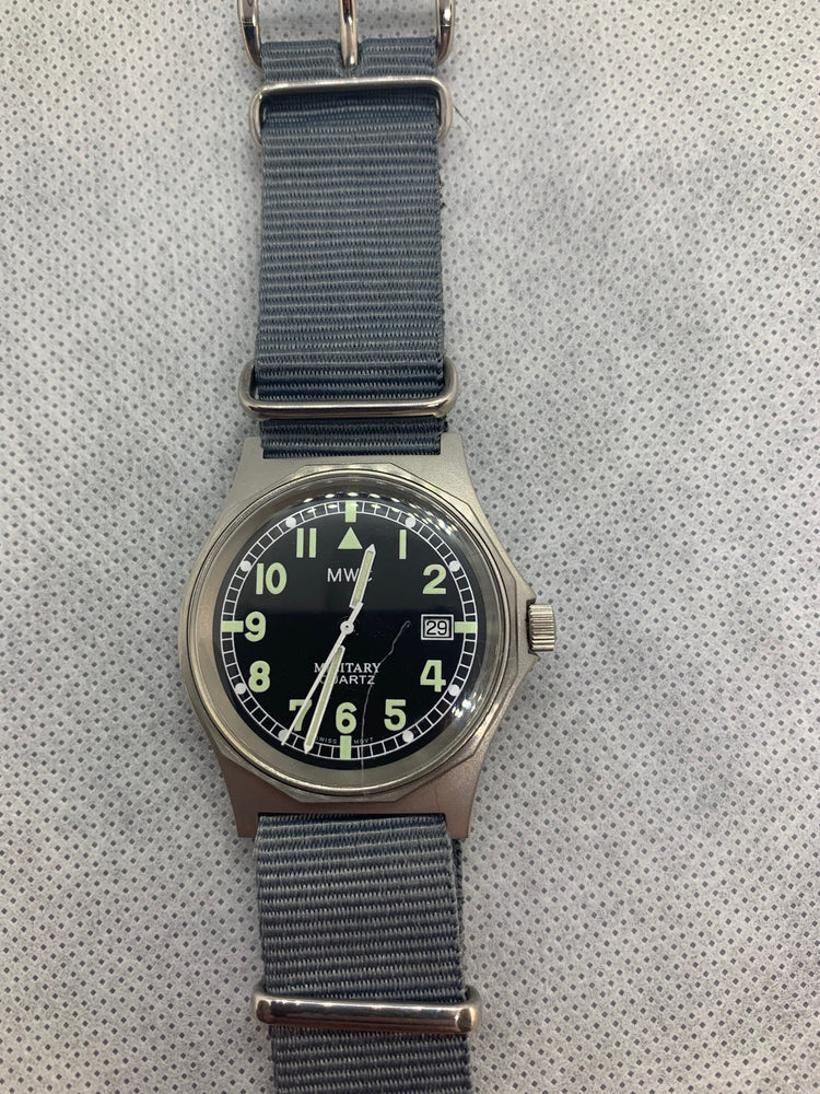 Virtually Brand New 1985-1990 Pattern MWC G10BH 50m (165ft) Water Resistant NATO Pattern Military Watch - Not Running Very Likely just a battery issue