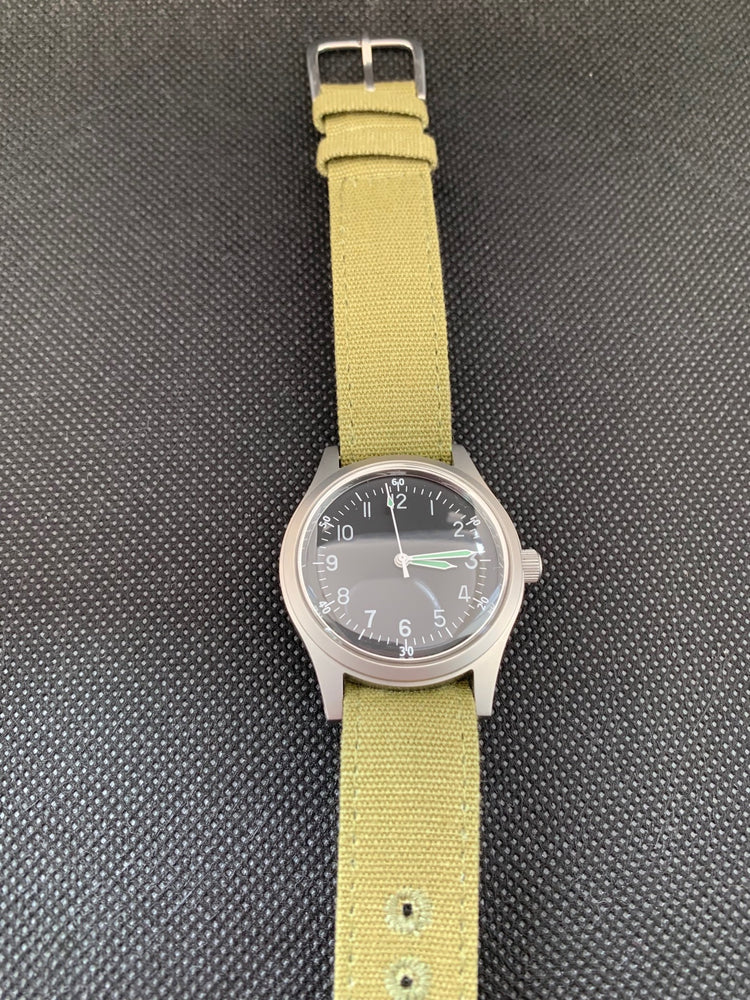 A-11 1940s WWII Pattern Military Watch (Automatic) Runs No Fault Apparent and Brand New