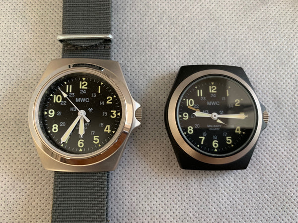 3 x MWC Classic MKVI 1980s Pattern US military Watches (Look new and probably just need batteries)