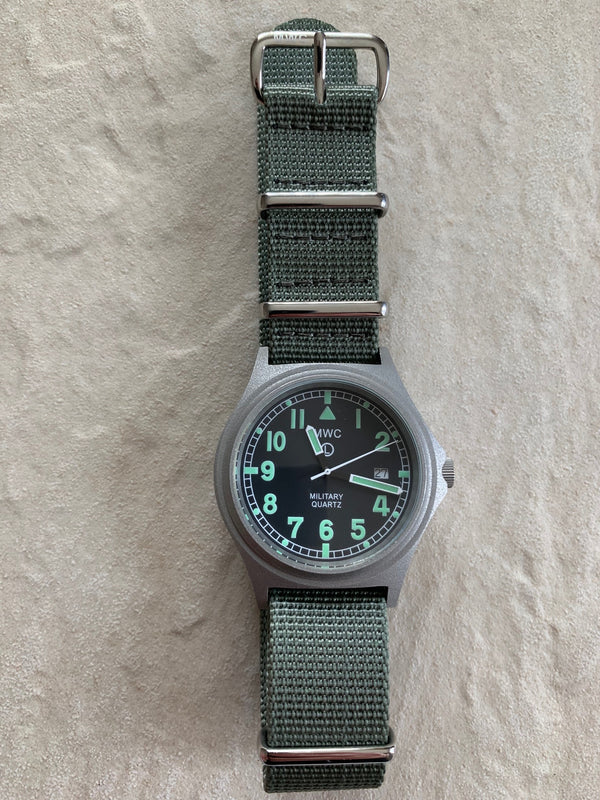 2014 - MWC G10BH 50m (165ft) Water Resistant NATO Pattern Military Watch - Not Running but Looks Brand New Fault Unknown