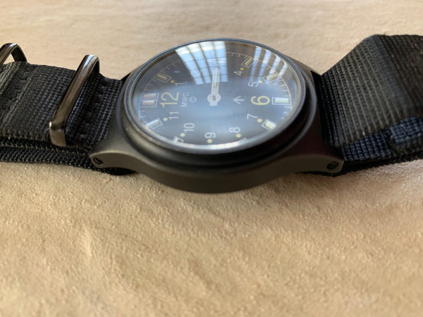 G10SL PVD 100m Water Resistant PVD Military Watch with GTLS Tritium Light Sources and Sapphire Crystal - Needs Attention to Hands