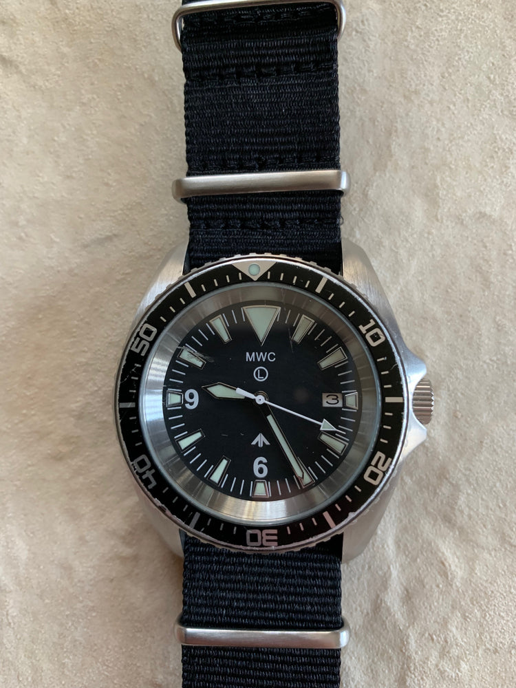 MWC Military Divers Watch Stainless Steel (Automatic) 2013-2018 Pattern - Running Fine but might need a service