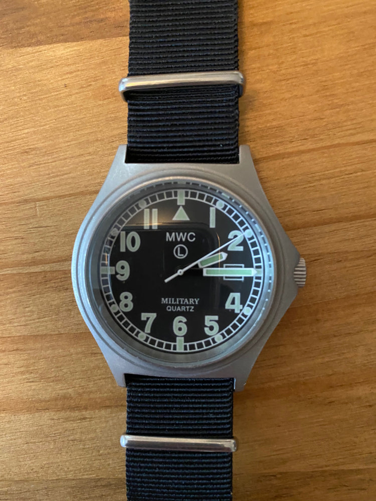 MWC G10BH 50m (165ft) Water Resistant NATO Pattern Military Watch - Not Running Fault if any Unknown