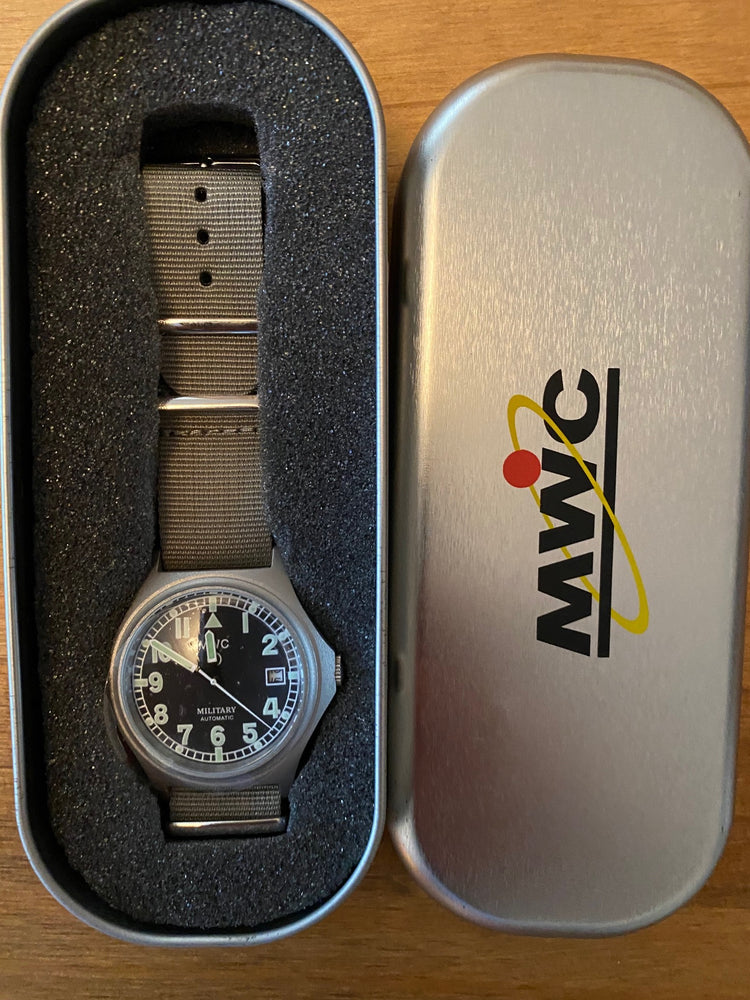 MWC G10 Handwound (100m Water Resistant) Military Watch - Running but Might Need a Check Over