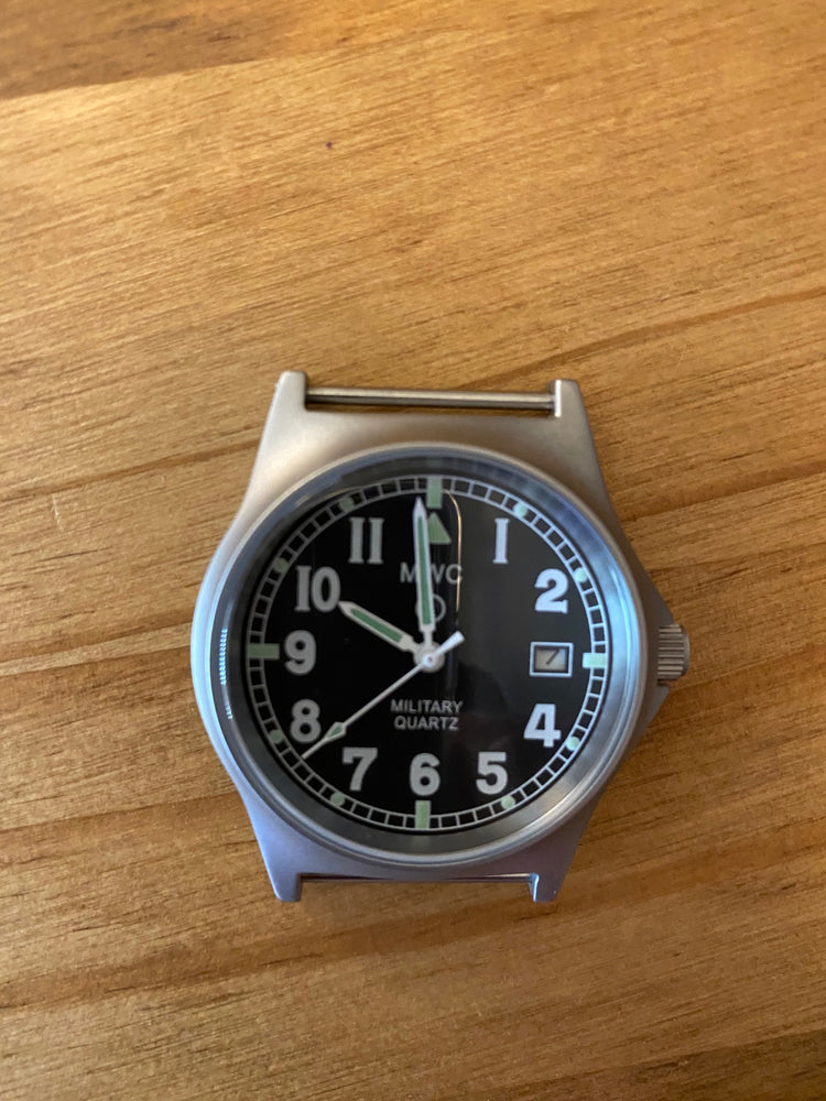 MWC G10 LM Stainless Steel Military Watch - Needs New Battery