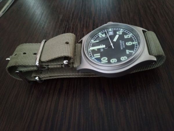 MWC G10BH 50m (165ft) Water Resistant NATO Pattern Military Watch - Not Running Fault Unknown