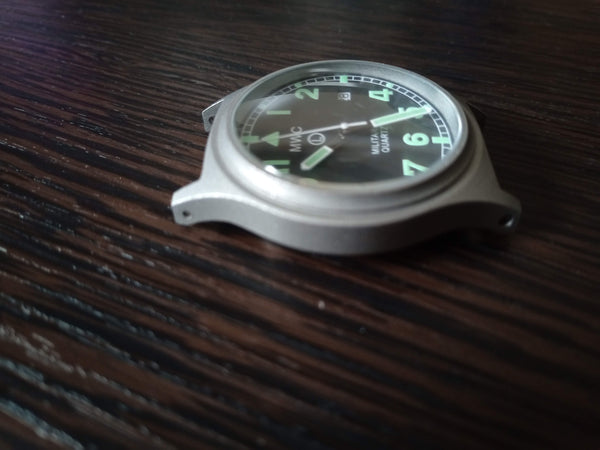 MWC G10BH 50m (165ft) Water Resistant NATO Pattern Military Watch - Running but Pin Needs Replacing (Replacement included)