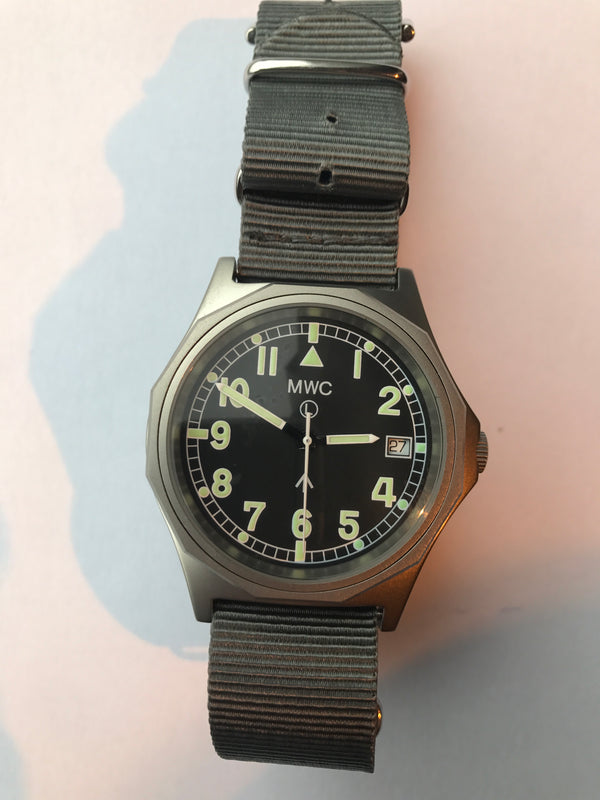 Rare MWC G10 2009 Model Stainless Steel Military Watch - Looks Brand New Running But Might Need a Checkover