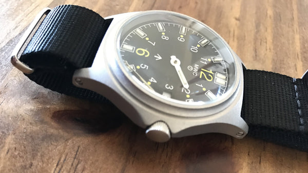 G10SL MKV 100m Water Resistant Military Watch with GTLS Tritium Light Sources - Hands Need Resetting