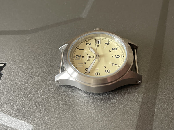 MWC Classic 100m Water Resistant Watch - Limited Edition with Cream Dial & 24 Jewel Automatic Movement (Needs a Checkover)