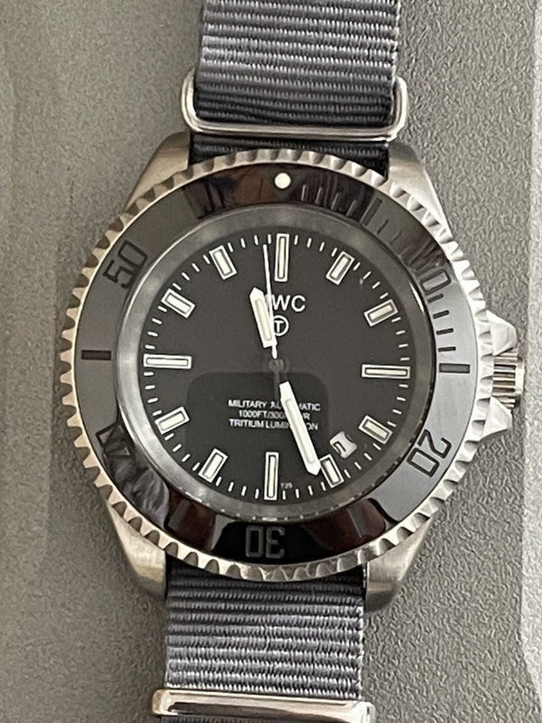 MWC 300m Automatic Military Divers Watch with Tritium GTLS (Manufactured 2013/2015 - Runs but Needs a Check Over)