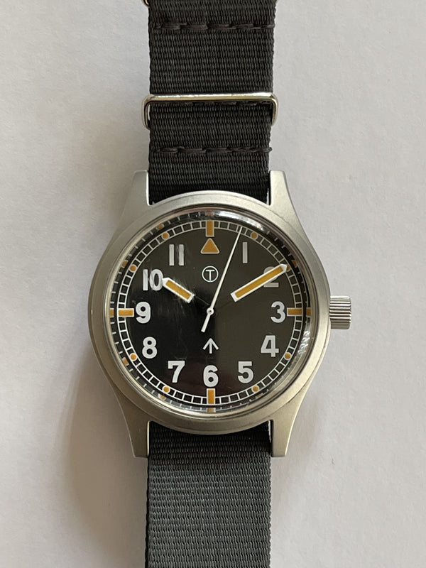 MWC W10 1970s Pattern 24 Jewel Automatic Military Watch - Needs Regulating but Running Fine