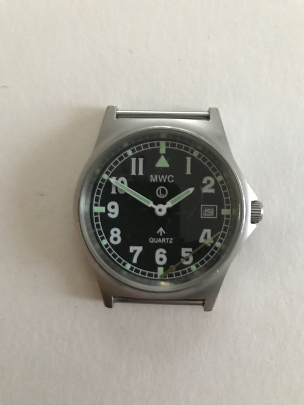 MWC G10 LM Stainless Steel Military Watch (Desert Strap) - Needs Attention