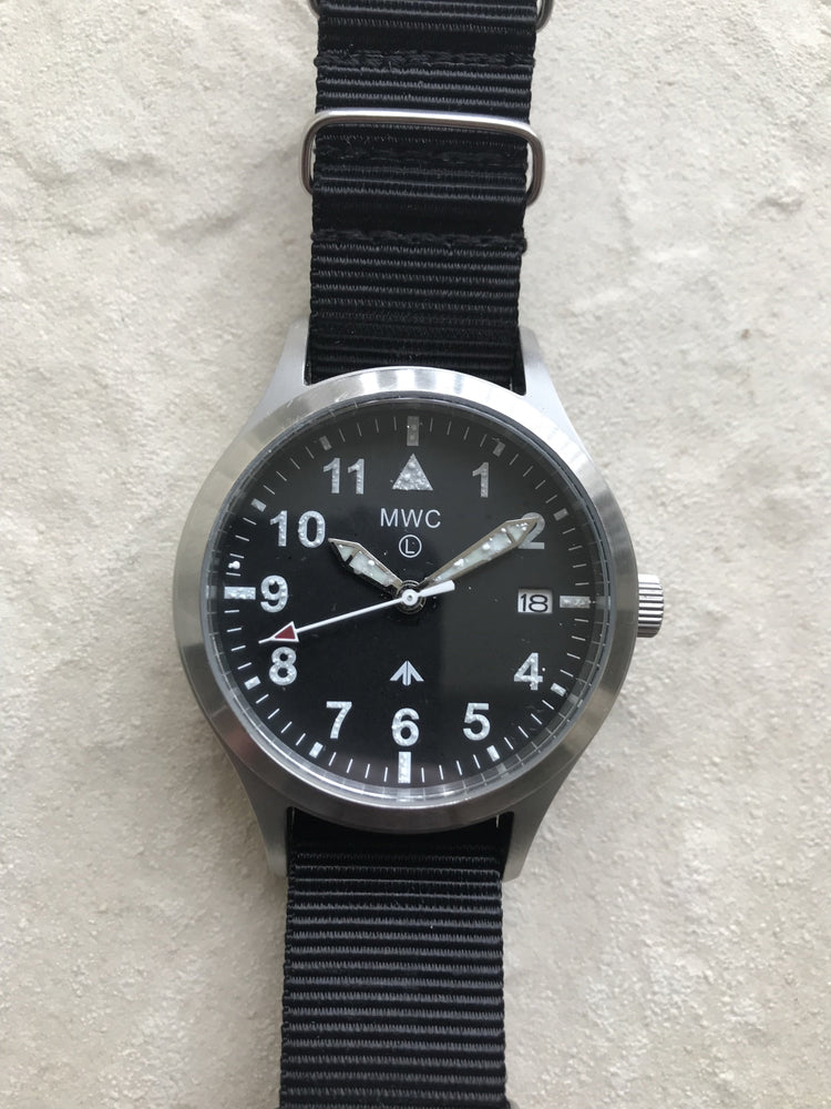 MWC Mk III Stainless Steel 1950's Pattern 100m Water Resistant Automatic Military Watch - Issue with Paint on the Dial