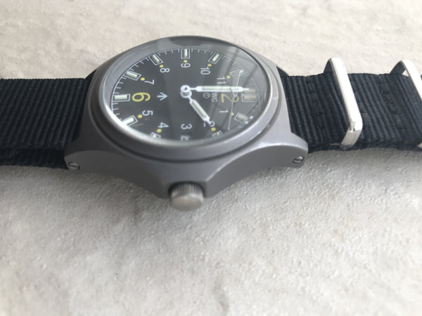 MWC G10 100m GTLS NATO Titanium Model Military Watch - Needs Hand Resetting