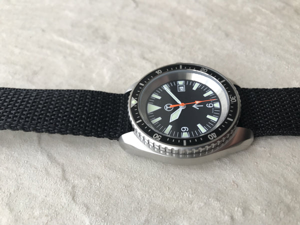 Kronos Stainless Steel Quartz Divers Watch Brand New - Probably Just Needs a Battery