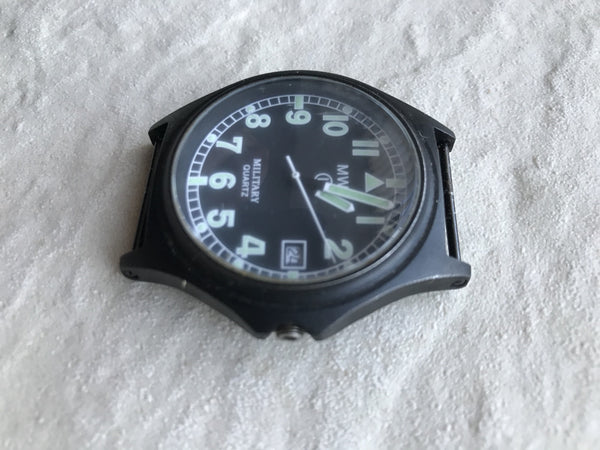 A Pair of MWC G10 PVD Stealth 100m Water Resistant Military Watch - Not Running Faults Unknown
