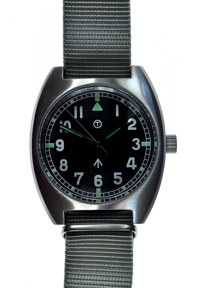 Military Industries W10 1970s Pattern Hybrid Military Watch with 100m Water Resistance - Non Date Version