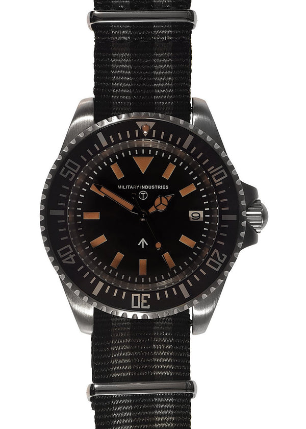 Military Industries 1982 Pattern 300m Water Resistant Military Divers Watch With Date Window (Automatic) Ex Display Model from a Trade Show