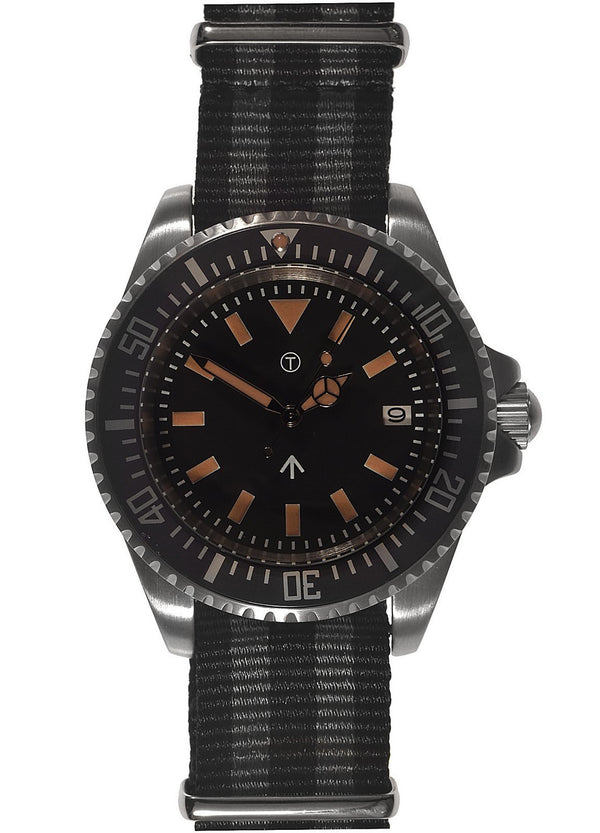 Military Industries 1982 Pattern 300m Water Resistant Military Divers Watch With Date Window (Automatic)