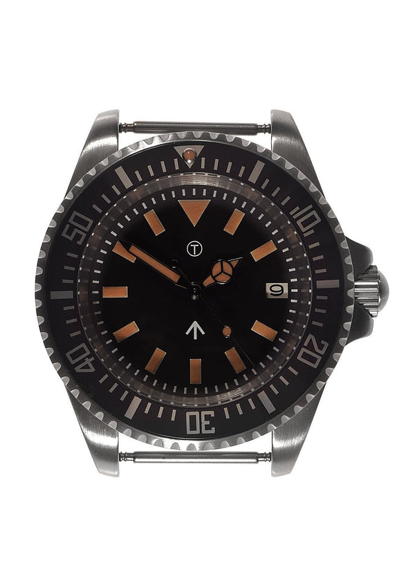 Military Industries 1982 Pattern 300m Water Resistant Military Divers Watch With Date Window (Automatic) Ex Display Watch Under Half Price