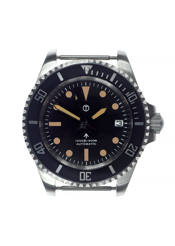 Military Industries 1982 Pattern 300m Water Resistant Military Divers Watch With Date Window (Automatic) Ex Display Watch