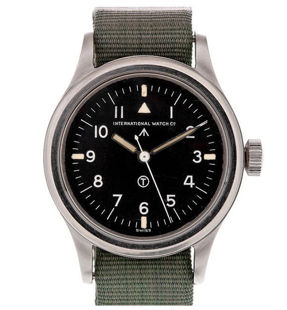 Extremely Rare: Original 1951 RAF Pilots Watch IWC Mark XI British Military Wrist Watch Cal. 89