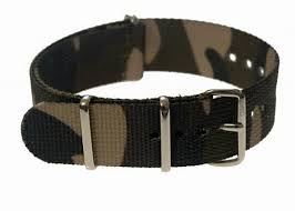 20mm Multirole Camouflage NATO Military Watch Strap