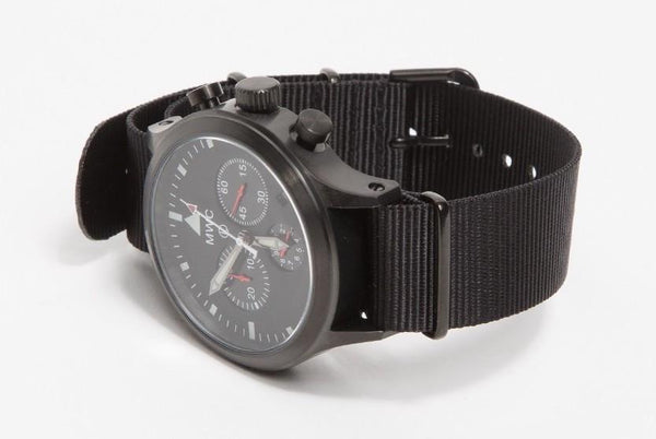 MWC MIL-TEC MKIV PVD Stainless Steel Military Pilots Chronograph (Slight Second)