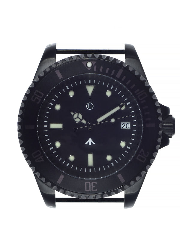 MWC 300m / 1000ft PVD Steel Military Divers Watch (Quartz) - Old Stock to Clear at 50% Off!