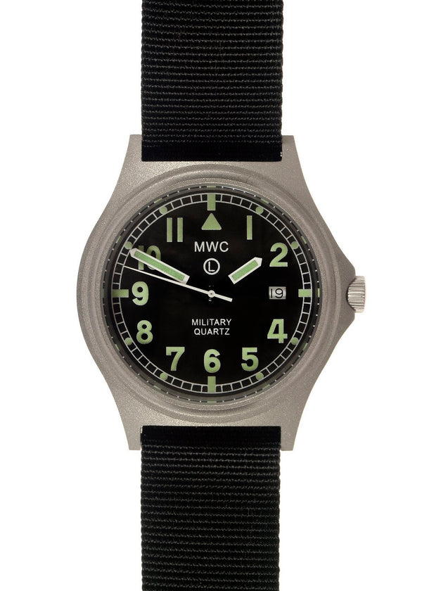 MWC G10BH 50m (165ft) Water Resistant NATO Pattern Military Watch - Running Hands Loose But Keeps Time