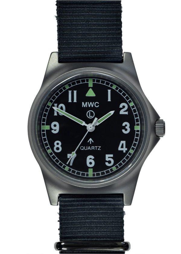 Brand New MWC G10 LM Stainless Steel Military Watch Only 4 Pieces Ex Display from a Trade Show