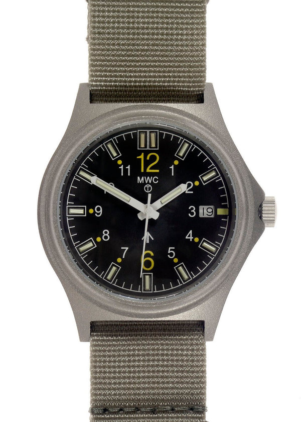 G10SL MKV 100m Water Resistant Military Watch with GTLS Tritium Light Sources - Brand New Discontinued Model Reduced to Half Price