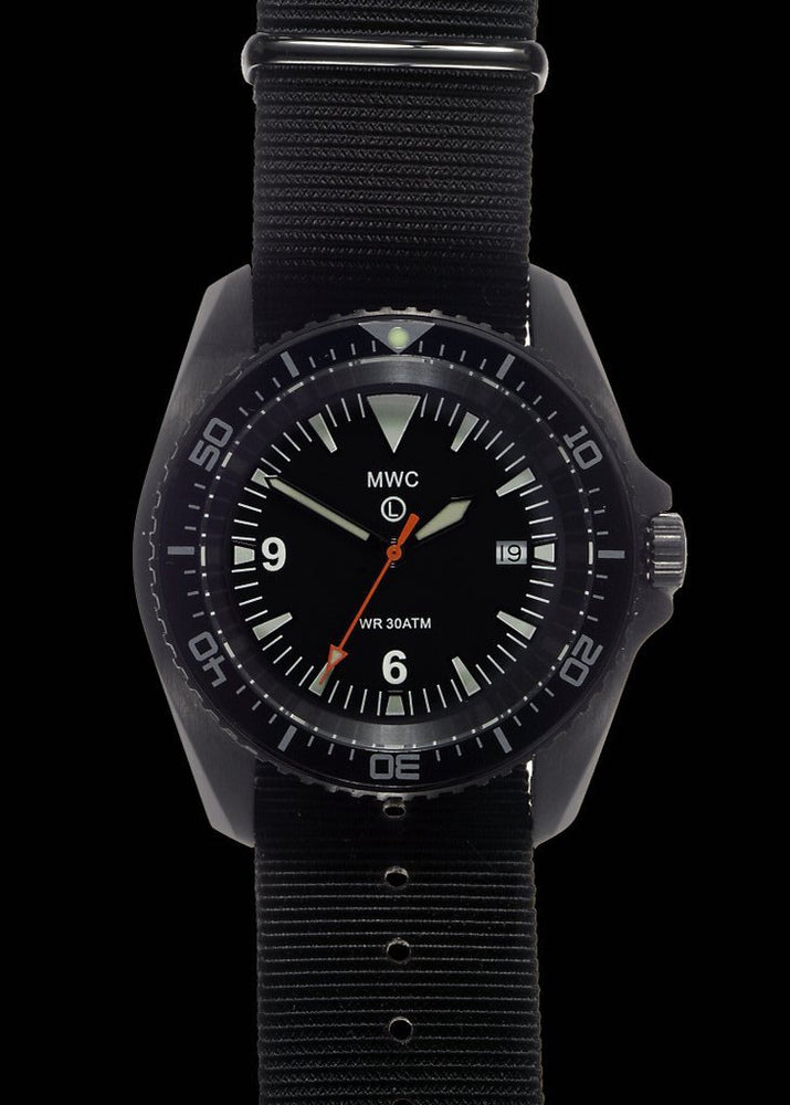 MWC Military Divers Watch in PVD Steel Case (Automatic) Might Need Regulating