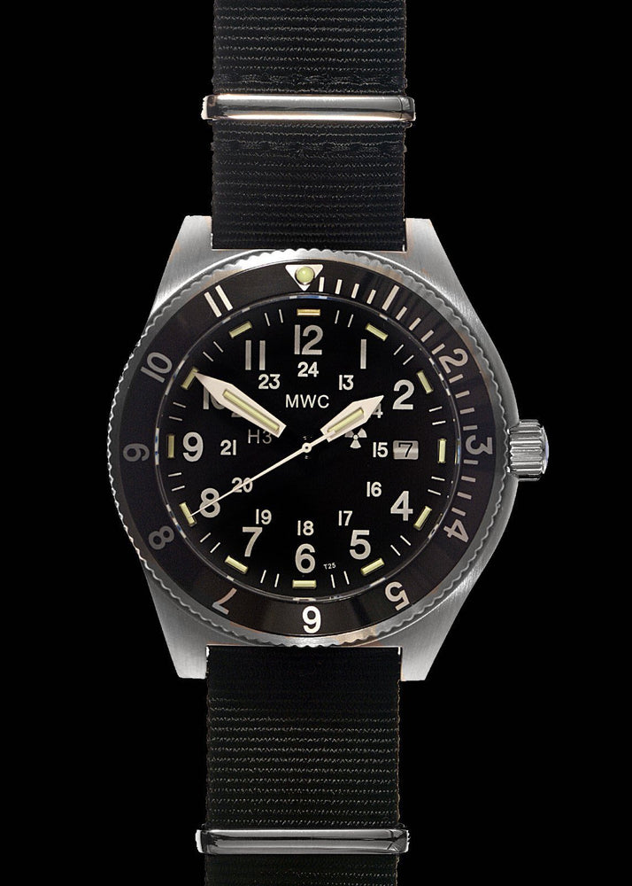 MWC 300m Water Resistant Stainless Steel Tritium GTLS Navigator Watch - Ex Display Watch from IWA Show in Germany