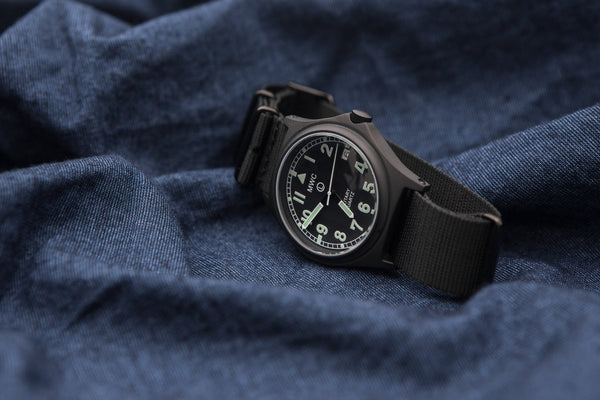 MWC G10 100m PVD Stealth Military Watch with Screw Crown & Caseback - Ex Display Watches from the Nürnberg IWA Show